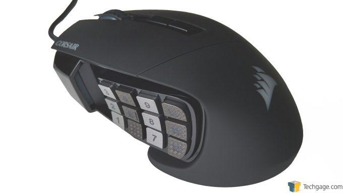 Corsair Scimitar Pro RGB - Overview