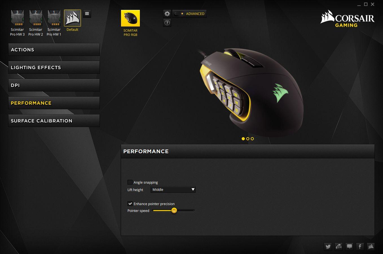 Corsair Scimitar Pro Rgb Gaming Mouse Review Techgage