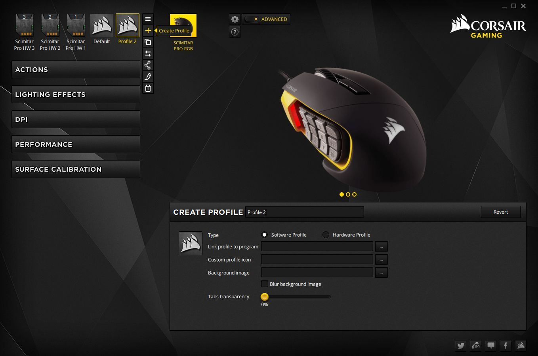 Corsair Scimitar Pro RGB Gaming Mouse Review – Techgage