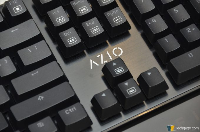 AZIO MGK L80 RGB Arrow KeyCap Light Control