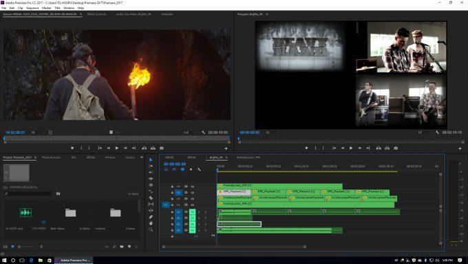 Adobe Premiere Pro 2017 - GPU-based Video Encodes
