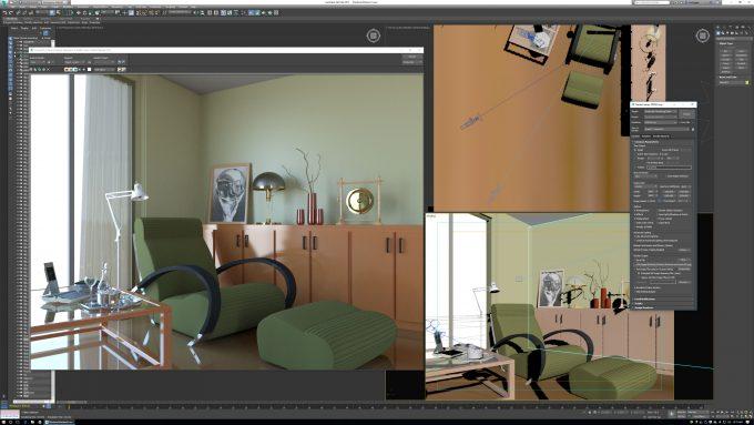 Autodesk 3ds Max 2017 - Iray Render