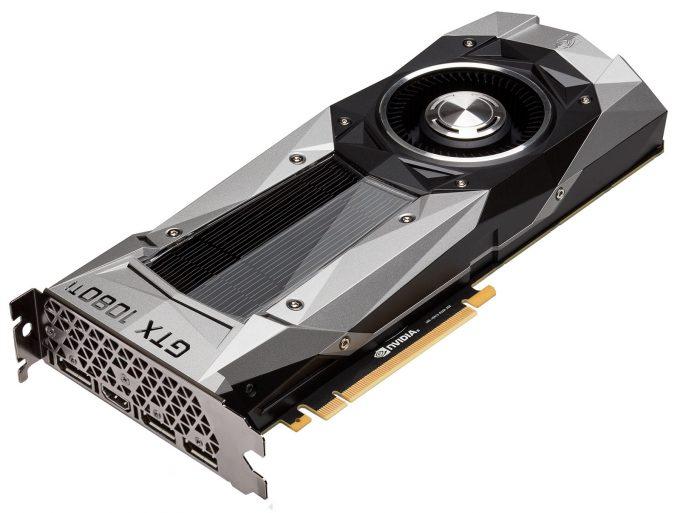 NVIDIA GeForce GTX 1080 Ti - Angled