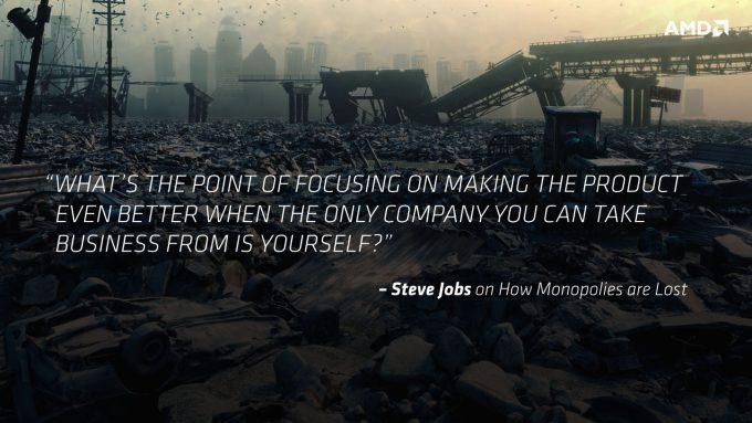 AMD Naples - Steve Jobs Quote