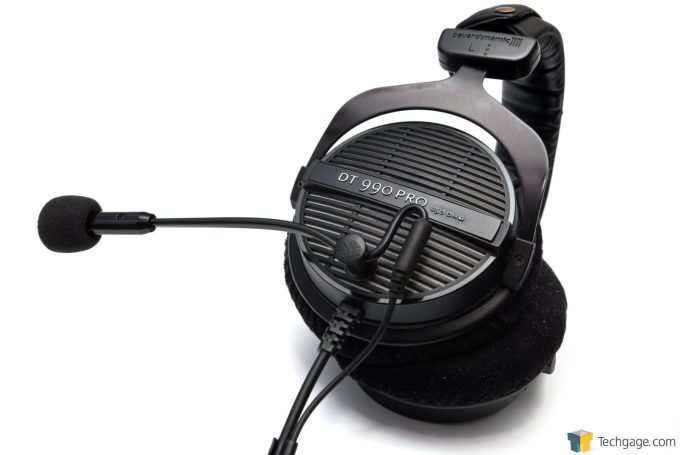Anlion ModMic 5 On Beyerdynamic DT990 Pro