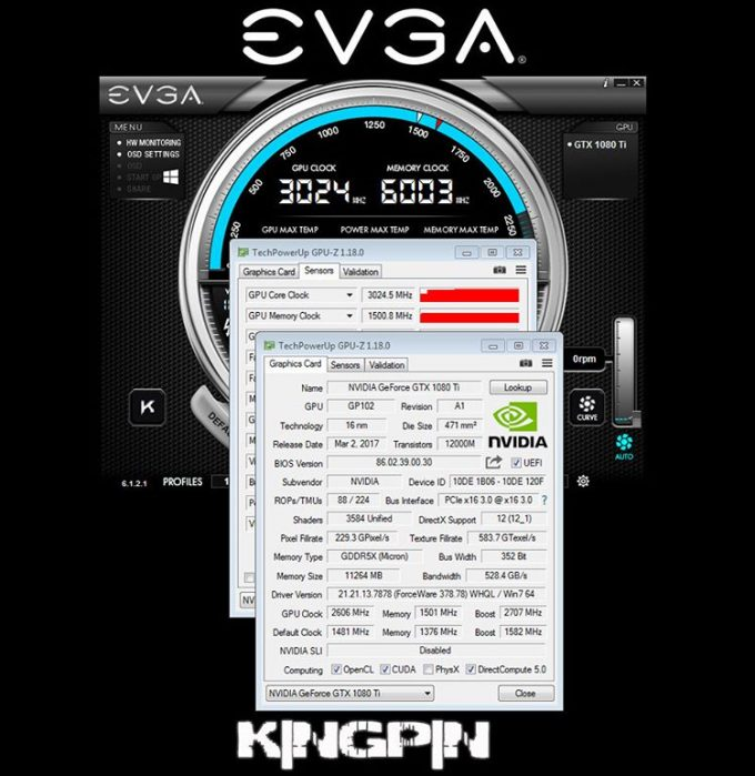 EVGA GTX 1080 Ti Overclock
