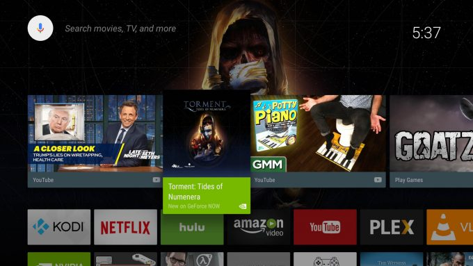 NVIDIA SHIELD Interface