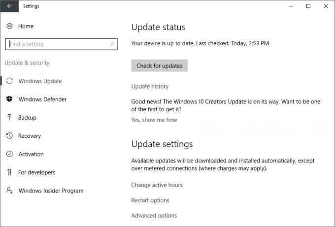 Windows 10 Creators Update Tease