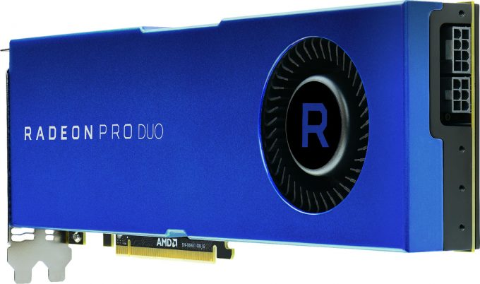 AMD Radeon Pro Duo (2017) - Rear View