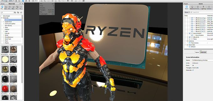 AMD Ryzen 5 - Workstation Use