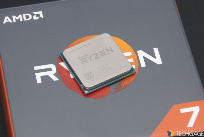 AMD Ryzen 7 1800X Processor