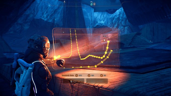 MassEffectAndromeda Looking For Clues With The Scanner