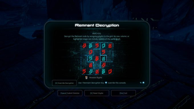 MassEffectAndromeda Space Sudoku