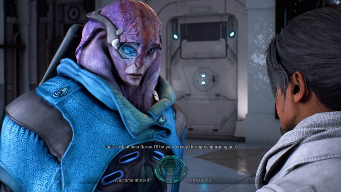 MassEffectAndromeda This is a Good Guy - Angaran