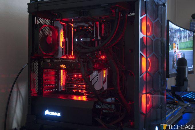 PowerColor Red Devil Radeon RX 580 in Techgage Test PC