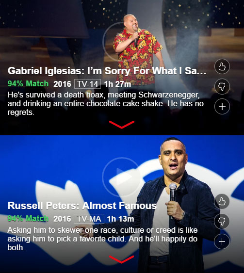 Russell Peters and Gabriel Iglesias - Netflix