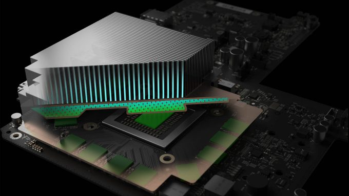 Xbox Project Scorpio Vapour Chamber
