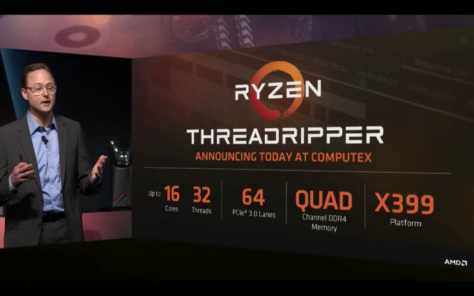 AMD Threadripper Pressdeck Shot
