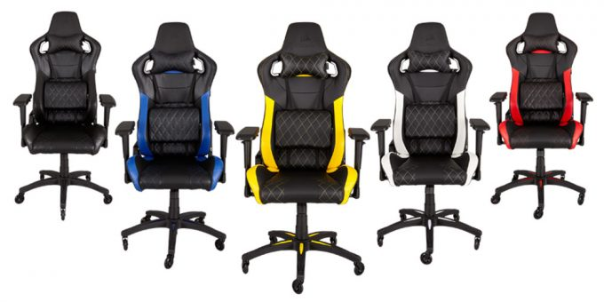 Corsair T1 RACE Chair Lineup