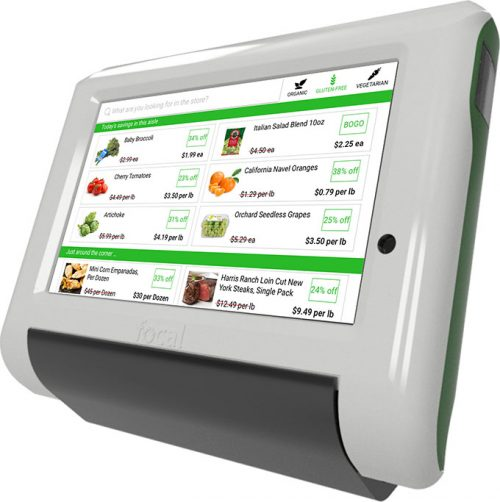 Focal Systems Supermarket Tablet