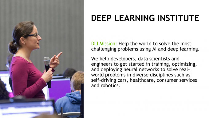 NVIDIA Deep Learning Institute Mission Statement