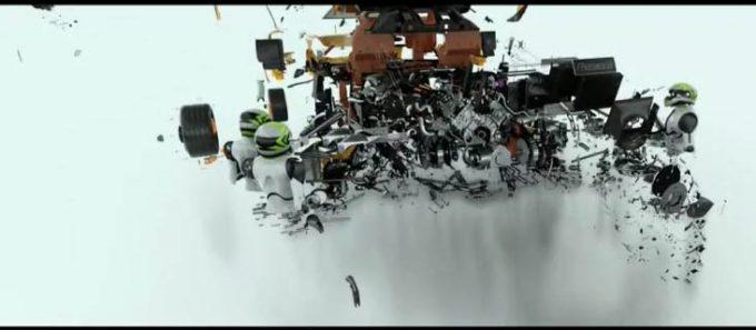 NVIDIA Holodock Exploded View