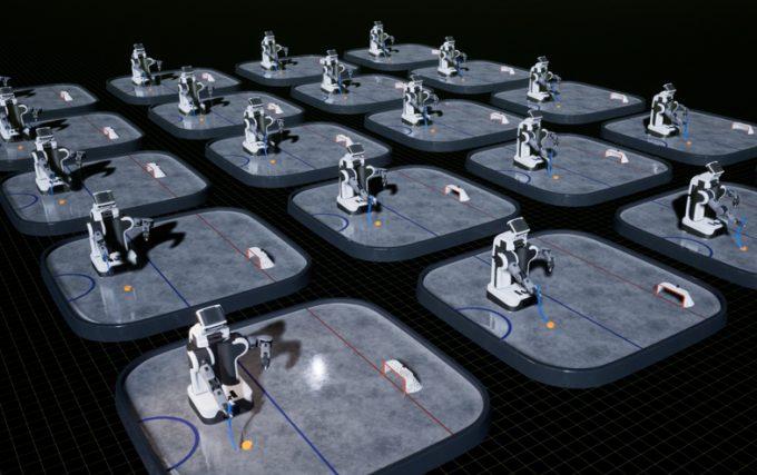NVIDIA Isaac Robot Simulation