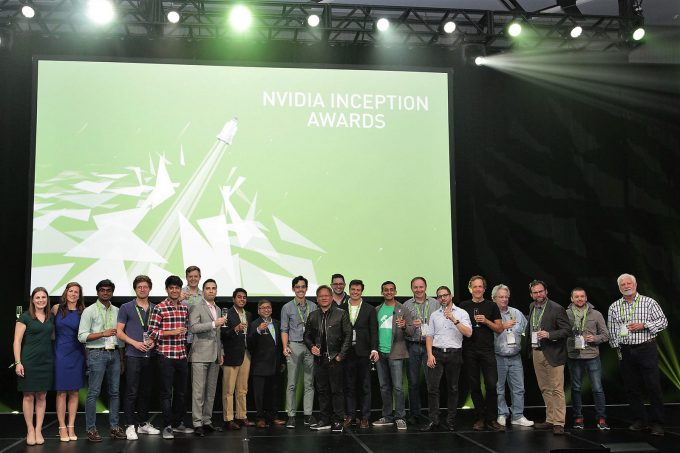 NVIDIA's 2017 Inception Award Winners & Presenters