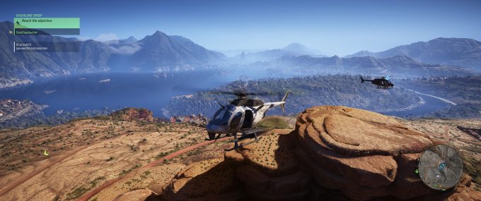 Tom Clancy's Ghost Recon Wildlands - In Helicopter
