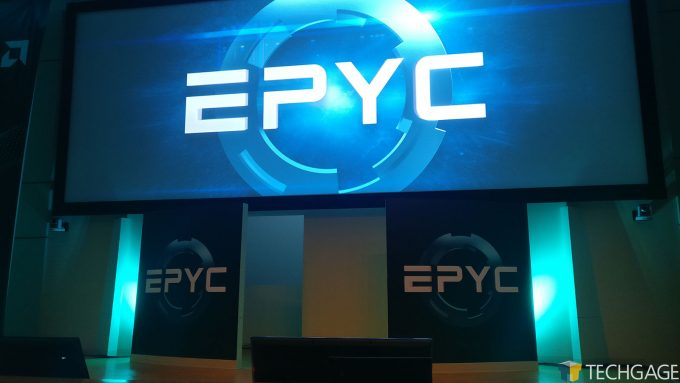 EPYC Presentation At AMD's Austin Headquarters