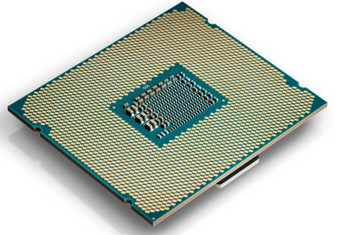 Intel Core X-Series CPU Underside