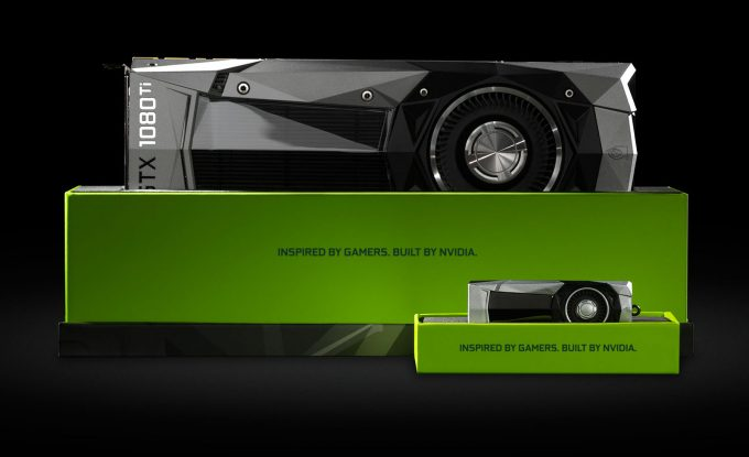 NVIDIA GeForce GTX Graphics Card And Flash Drive