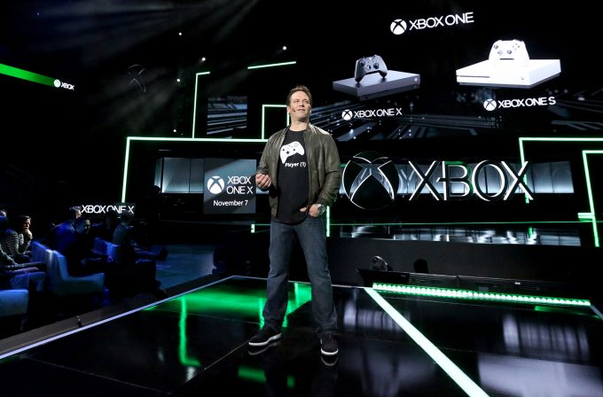 Phil Spencer Unveiling Xbox One X