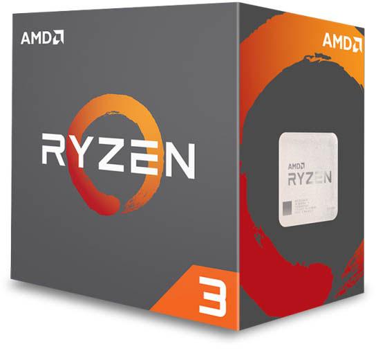 AMD Ryzen 3 CPU Box