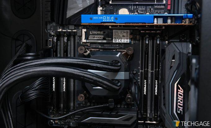 Corsair Carbide 600C (Techgage WS GPU PC) - HyperX FURY Memory & KC1000 SSD