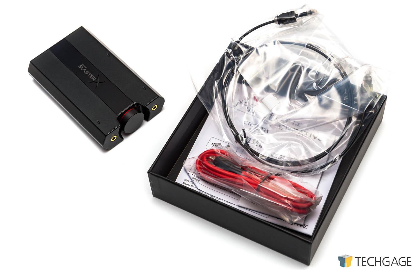 Creative Sound BlasterX G5 External Soundcard & Headphone Amp Review