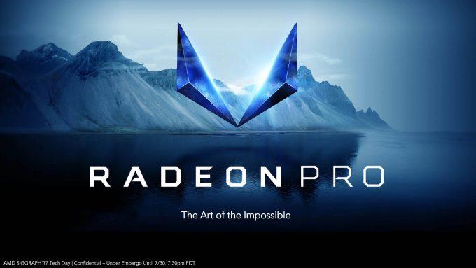 Radeon & Vega Pro Workstation