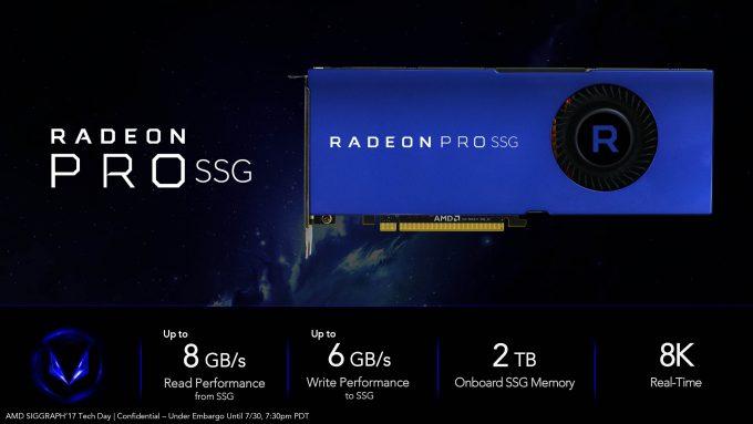 Radeon & Vega Pro Workstation SSG