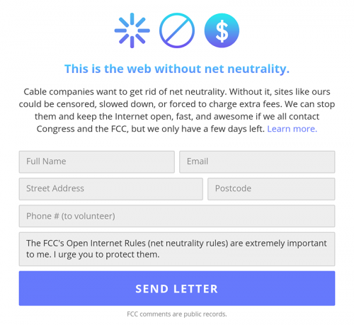 This Is The Web Without Net Neutrality