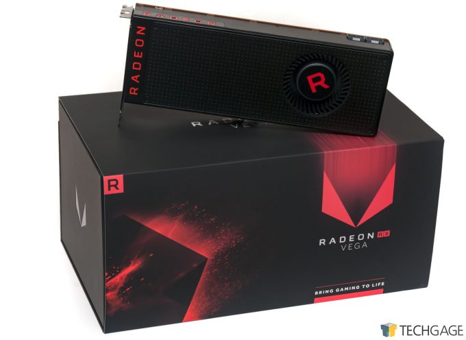 AMD Radeon RX Vega 64 - Overall Packaging