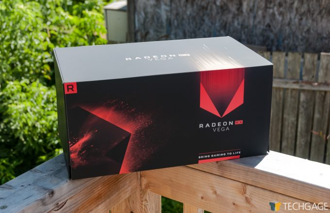 AMD Radeon RX Vega - Packaging
