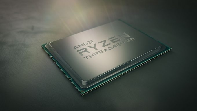 AMD Ryzen Threadripper Promo Shot
