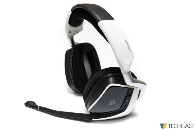 Corsair VOID PRO Wireless Headset Mic Extended