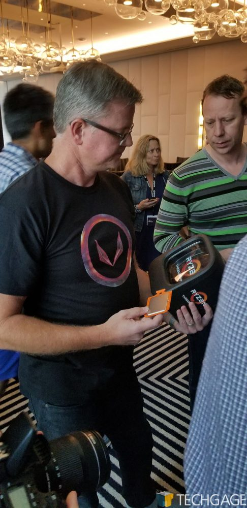 John Taylor At AMD's Capsaicin SIGGRAPH 2017 Event