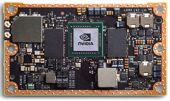 NVIDIA Jetson TX2 Module Cropped