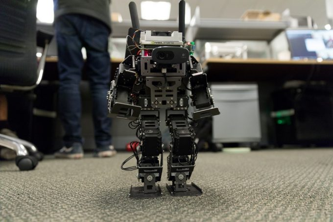 NVITIA Jetson Intern Robot Walking
