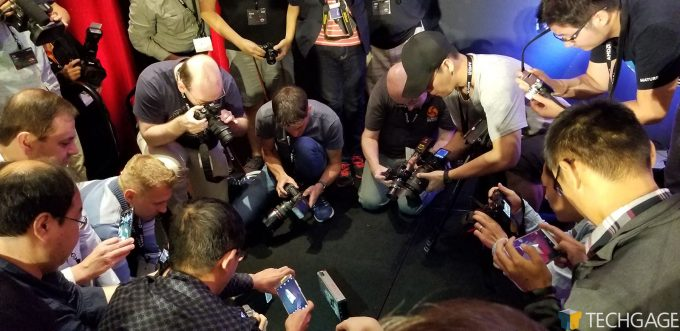 Tech Press Photographing RX Vega