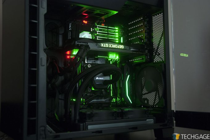 Techgage WS GPU Test System With NVIDIA's TITAN Xp