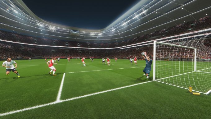 NVIDIA Ansel - PES 2018 (Arsenal vs Liverpool)