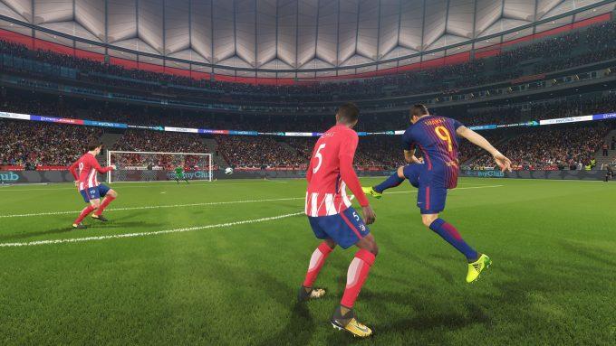 NVIDIA Ansel - PES 2018 (Suarez Goal Attempt)